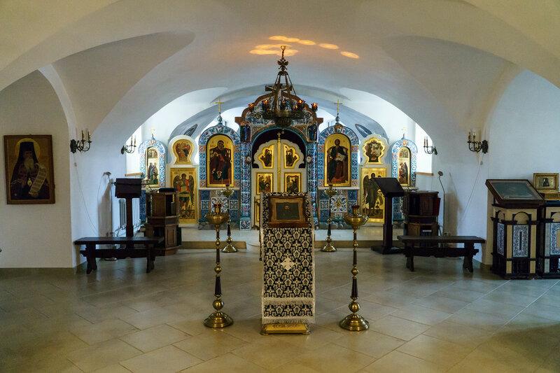 Нижний Храм в честь Иоанна Предтечи